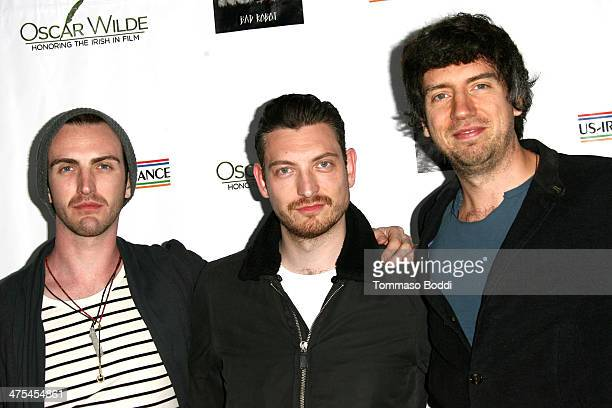 Snow Patrol attend the USIreland alliance preAcademy Awards event held at Bad Robot on February 27 2014 in Santa Monica California