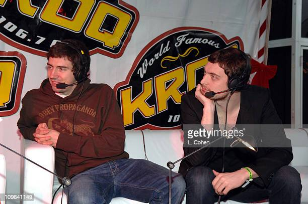 Snow Patrol during KROQ Almost Acoustic Christmas 2006 - Night 2 - Backstage at Gibson Amphitheater in Universal City, California, United States.