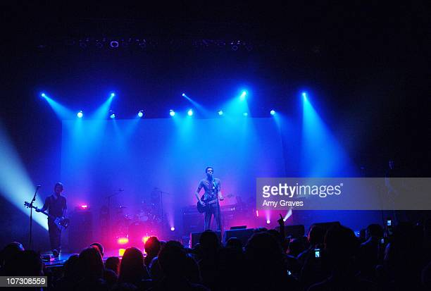 Snow Patrol during Snow Patrol Perform at the Wiltern LG at The Wiltern LG Theater in Los Angeles California United States