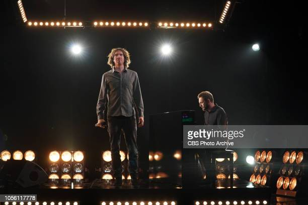 Snow Patrol on The Late Late Show with James Corden airing Tuesday October 30 2018