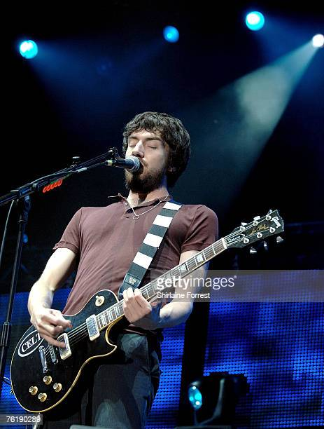 Snow Patrol perform at the V festival in Weston Park on 19th August 2007 in Stafford England
