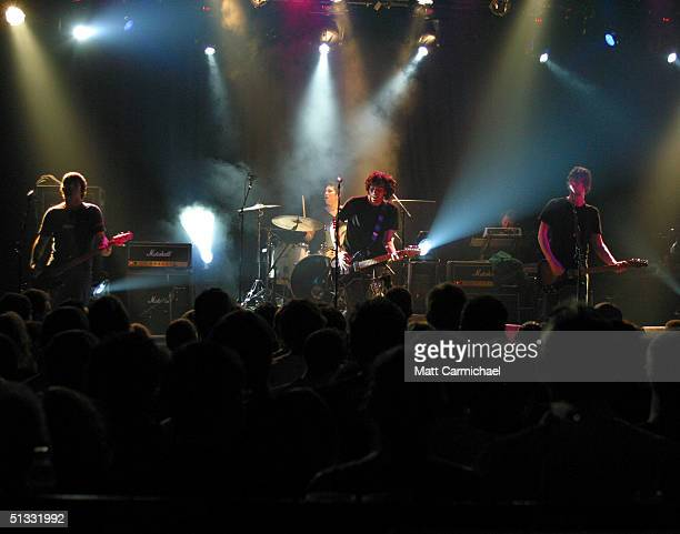 Snow Patrol performs at Metro September 20, 2004 in Chicago, Illinois.