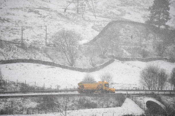 GBR: Scotland Issued With Amber Weather Warning For Snow