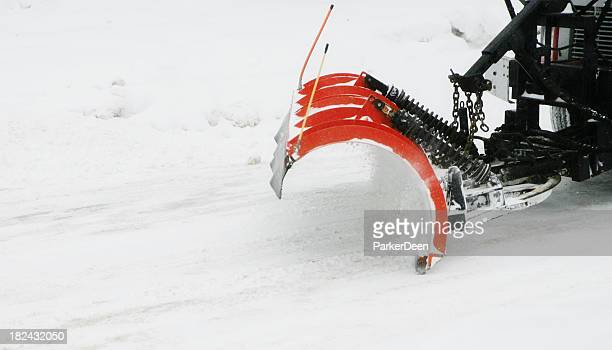 snow plow - snowplow stock pictures, royalty-free photos & images