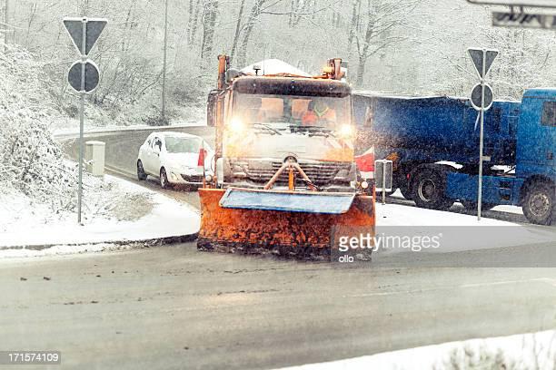 Schnee Pflug Lkw-winter road Geschäftsbedingungen