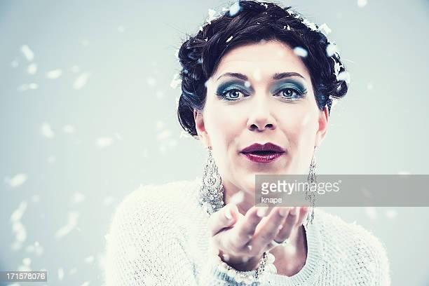 Princesse des neiges Déesse