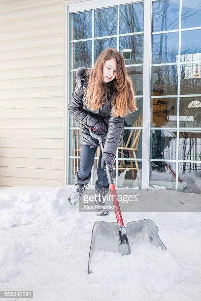 Snow removal at the desk