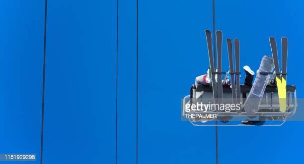 snow resort telluride colorado - aspen tree stock pictures, royalty-free photos & images