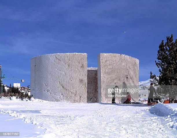 Snow Show Turin Italy Architect Yoko Ono And Arata Isozaki Snow Show Penel Colony