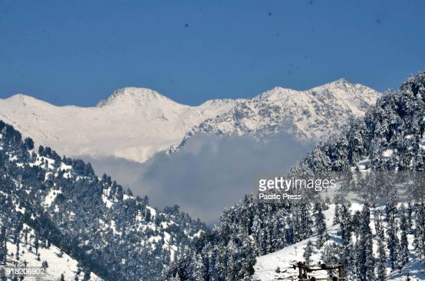 Snow shrouds the village of Daksum about 97 kilometers south of Srinagar city the summer capital of Indiancontrolled Kashmir Feb 14 2018 The colder...