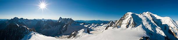 Snow summit sunburst