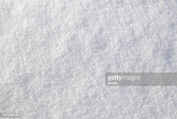 texture de la surface de la neige
