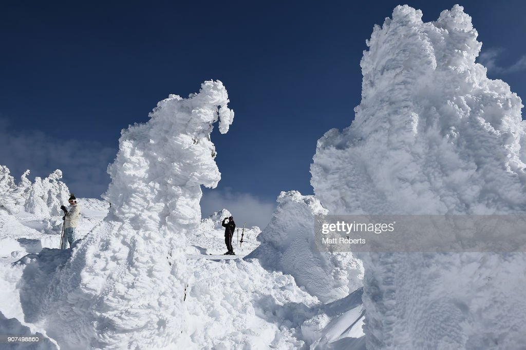 Snow Monsters In Zao