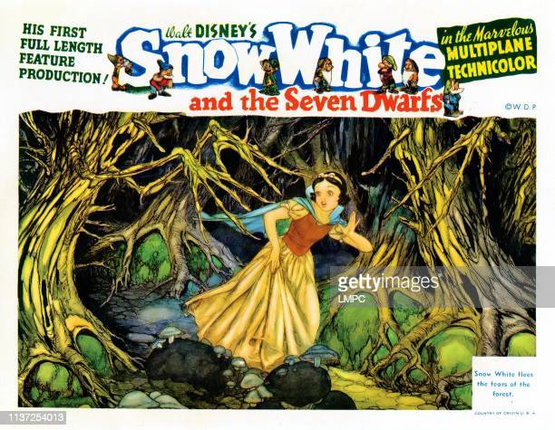 Snow White And The Seven Dwarfs lobbycard Snow White 1937