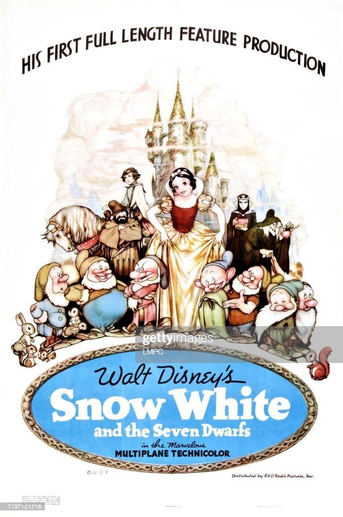 Snow White And The Seven Dwarfs : News Photo