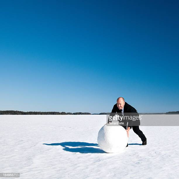 snowball effect - image effect stock pictures, royalty-free photos & images