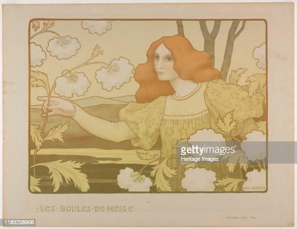 L Ermitage Paul Berthon Einsiedelei Jugendstil Kunstdruck Faks/_Plakatwelt 272