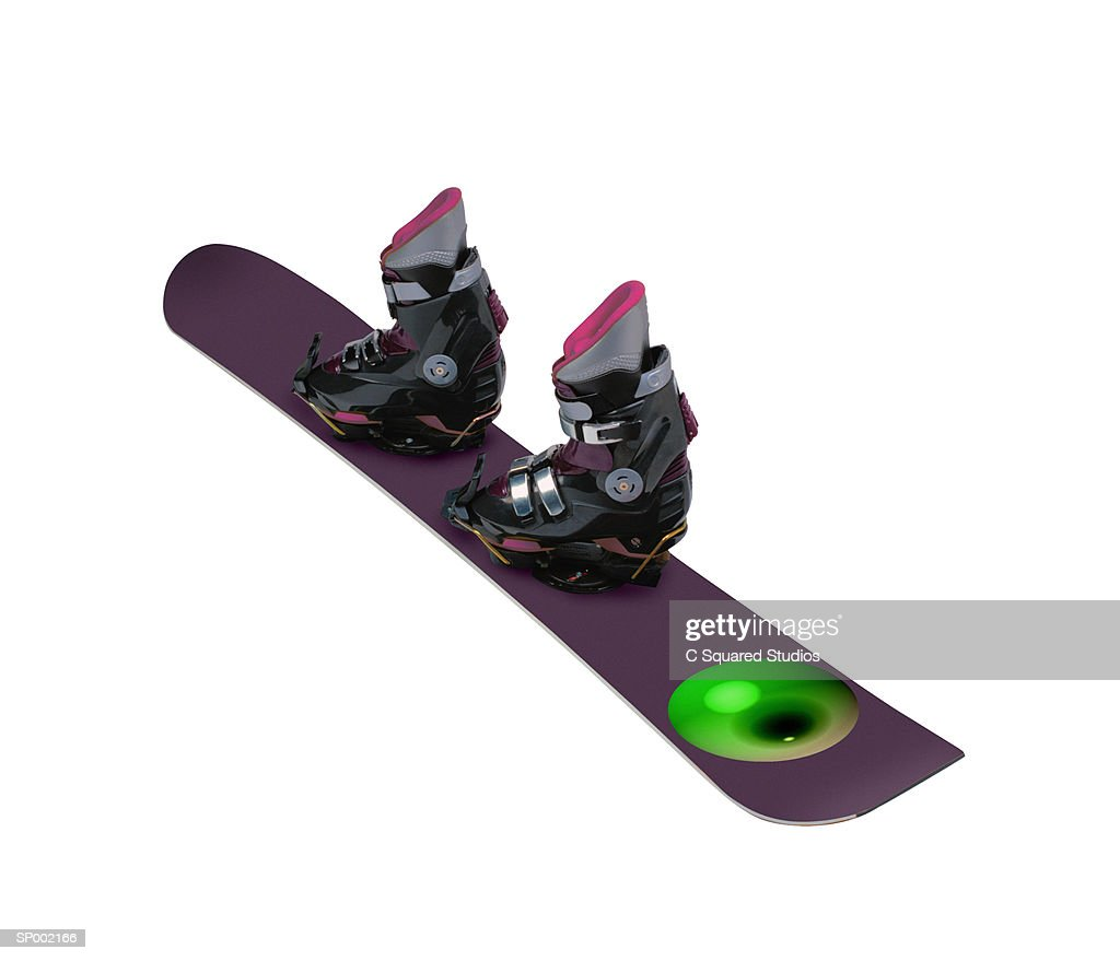 Snowboard and Boots : ストックフォト