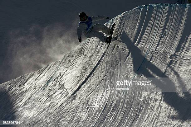 Snowboard Half Pipe Mnner 12 2 2006 olympische Winterspiele in Turin 2006 olympic winter games in torino 2006