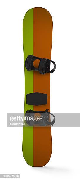 Snowboard Isolated on a White Background