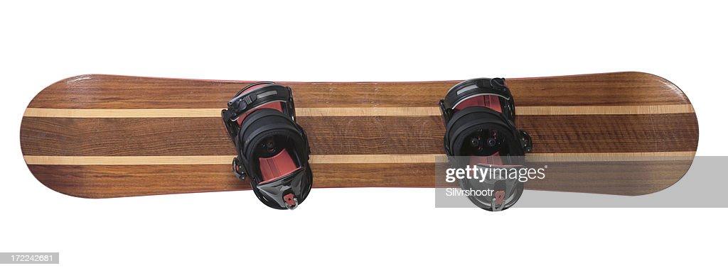 snowboard isolated : Stock Photo