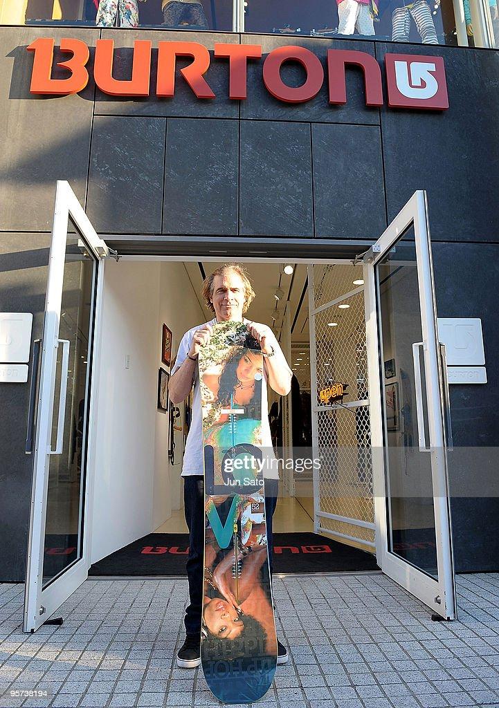 Jake Burton Shop Appearance In Tokyo : News Photo