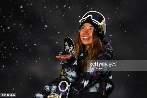 Snowboarder Hailey Langland poses for a portrait during the Team USA Media Summit ahead of the PyeongChang 2018 Olympic Winter Games on September 27...