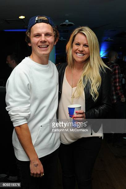 Snowboarder Jamie Nicholls and Chemmy Alcott at the London premiere of 'The Fourth Phase' by Red Bull Media House at BFI Southbank on September 20...