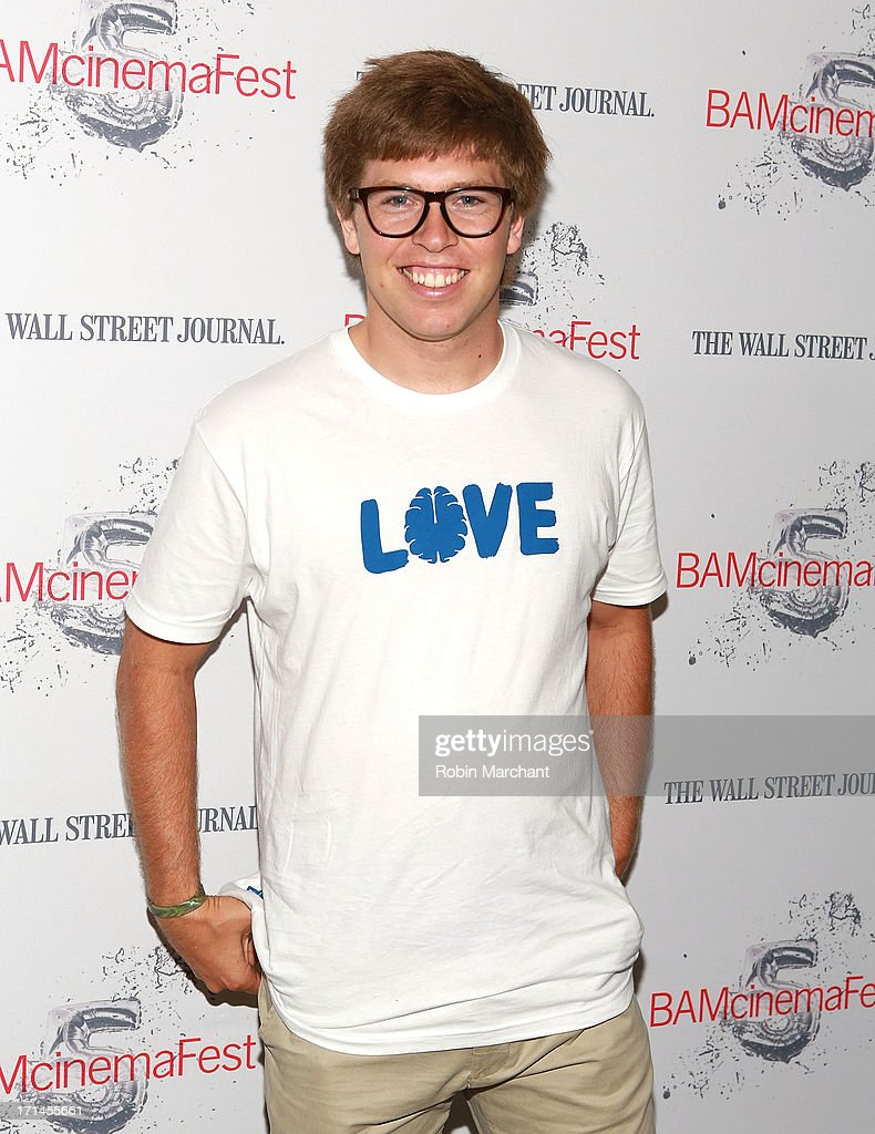 Snowboarder Kevin Pearce attends BAMcinemaFest New York 2013 Screening Of 'The Crash Reel' at BAM Rose Cinemas on June 24, 2013 in New York City.