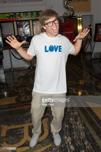 Snowboarder Kevin Pearce attends BAMcinemaFest New York 2013 Screening Of The Crash Reel at Peter Jay Sharp Theater on June 24 2013 in the Brooklyn...