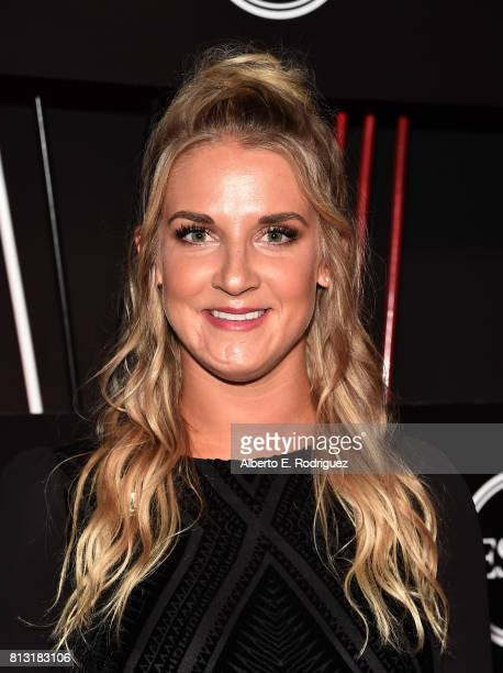 Snowboarder Kirstie Ennis attends the BODY at The EPYS PreParty at Avalon Hollywood on July 11 2017 in Los Angeles California