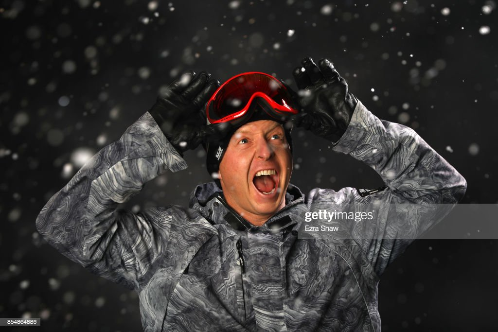 Snowboarder Nate Holland poses for a portrait during the Team USA Media Summit ahead of the PyeongChang 2018 Olympic Winter Games on September 27, 2017 in Park City, Utah.