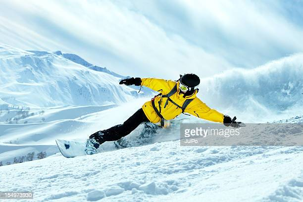 snowboarder - boarding stock pictures, royalty-free photos & images