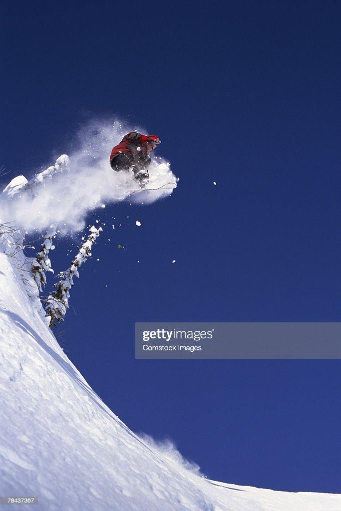 Snowboarder : Stockfoto