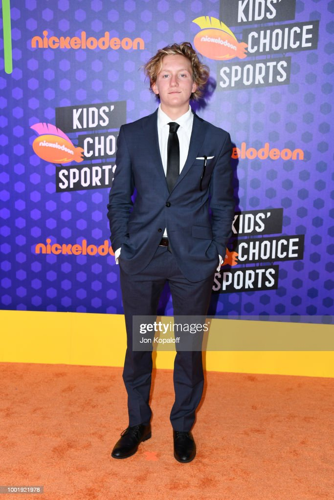 Nickelodeon Kids' Choice Sports 2018 - Arrivals