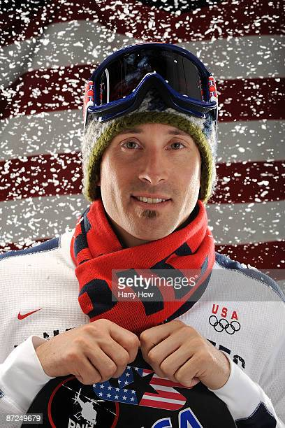 Snowboarder Seth Wescott poses for a portrait during the NBC/USOC Promotional Photo Shoot on May 15, 2009 at Smashbox Studios in Los Angeles,...