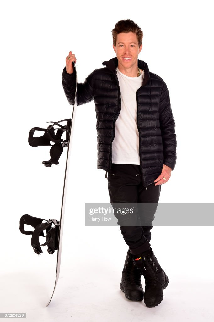 Snowboarder Shaun White poses for a portrait during the Team USA PyeongChang 2018 Winter Olympics portraits on April 25, 2017 in West Hollywood, California.
