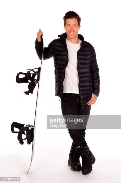 Snowboarder Shaun White poses for a portrait during the Team USA PyeongChang 2018 Winter Olympics portraits on April 25 2017 in West Hollywood...