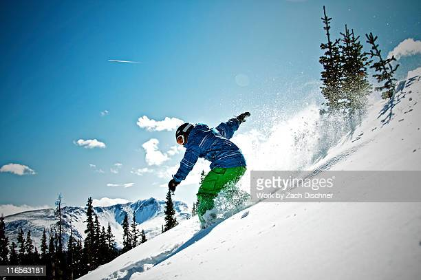 snowboarding boy