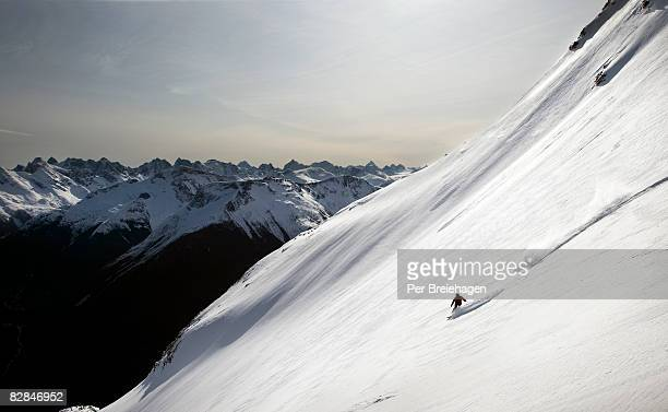 snowboarding in bella coola, bc - snowboarding stock pictures, royalty-free photos & images