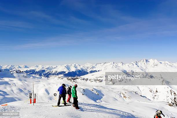 """snowboarding in the alps - """"sjoerd van der wal"""" or """"sjo"""" stock pictures, royalty-free photos & images"""