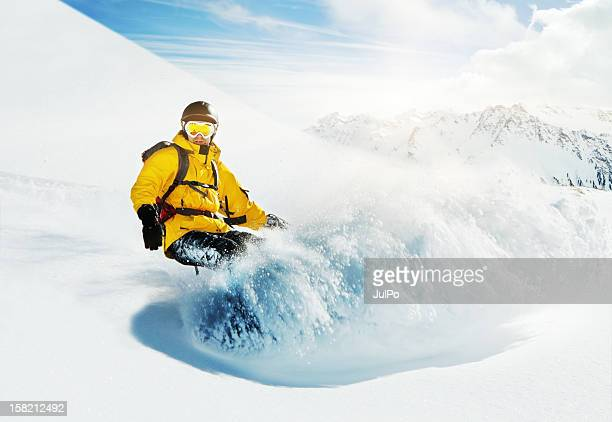snowboarding - boarding stock pictures, royalty-free photos & images