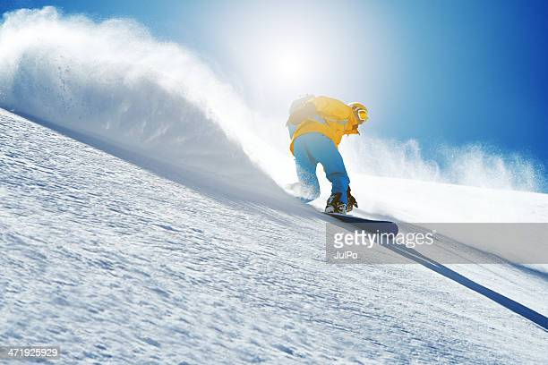 snowboarden - wintersport stock-fotos und bilder