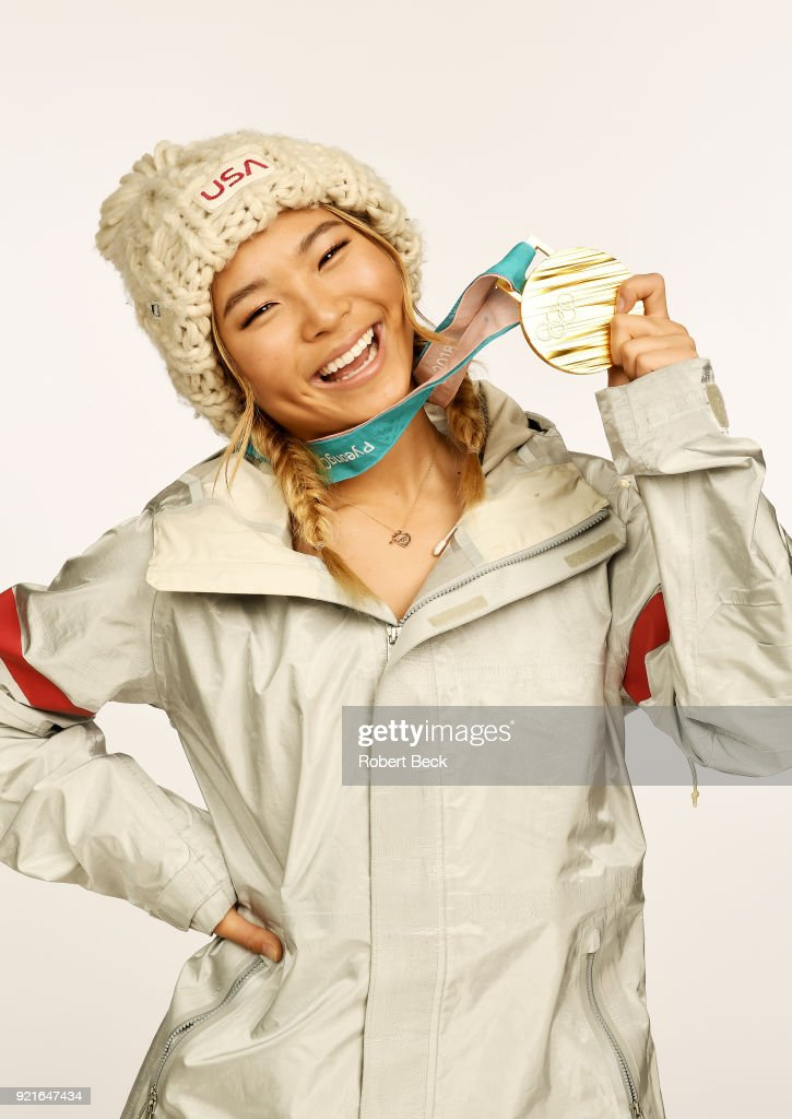 Chloe Kim, Snowboarding : News Photo