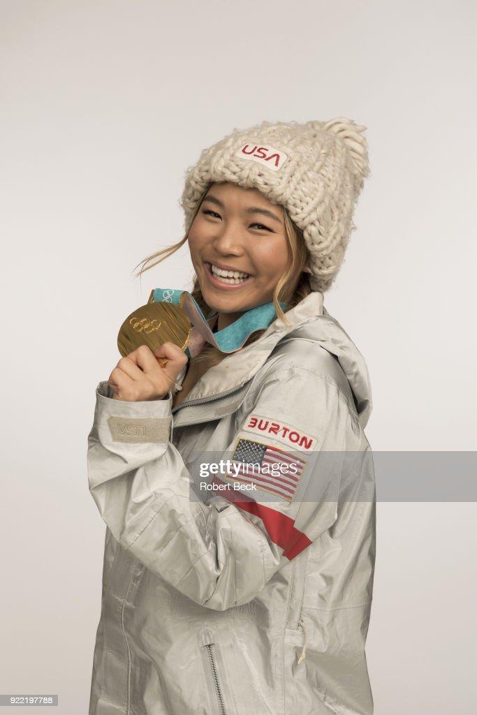 Chloe Kim, Snowboarding : News Photo