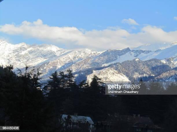 Snow-clad mountains