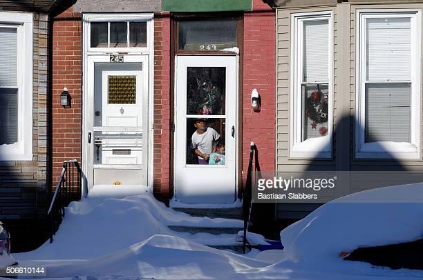 Snow-day in Philadelphia, PA