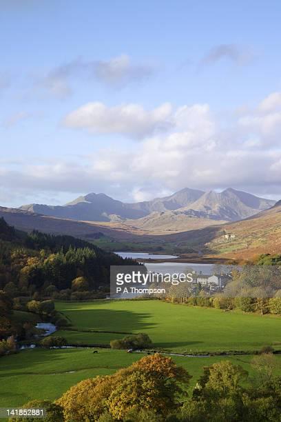 Snowdon from Capel Curig, Gwynedd, Wales