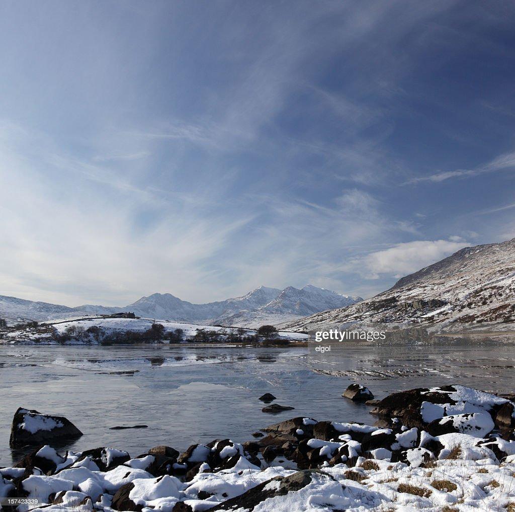 Snowdon in Winter : Stock Photo