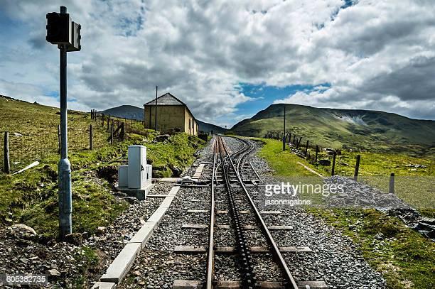Snowdon Valley railway, Wales, UK